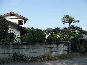 日光市の庭木の剪定